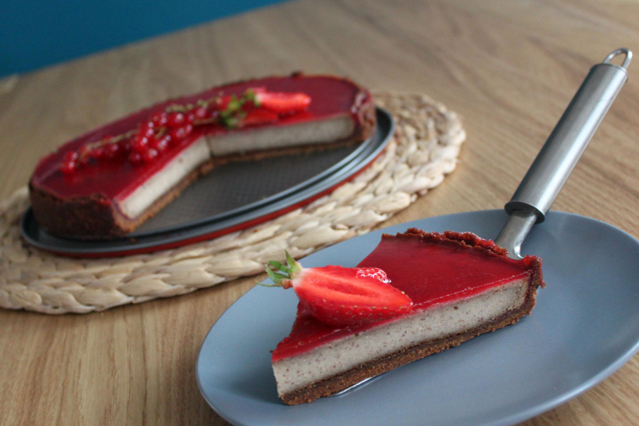 Cake Fruits Rouges Sans Oeufs